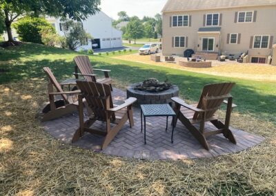 Hardscaping Project - Outdoor Fire Pit
